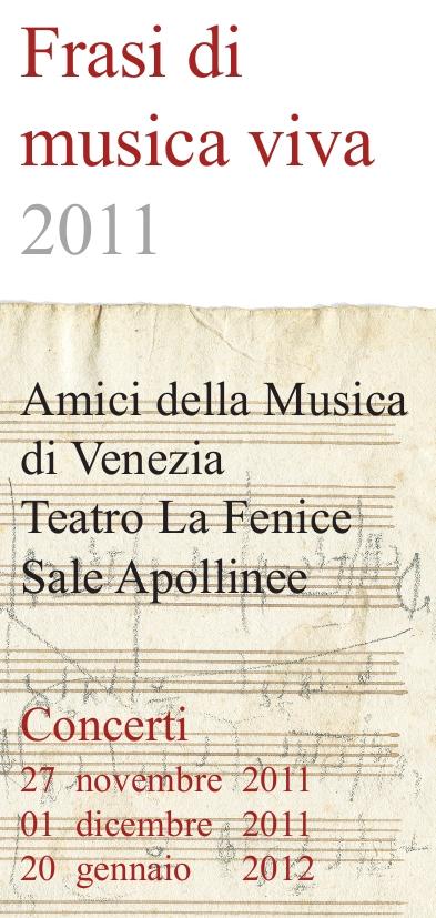 Frasi di musica viva 2011-2012